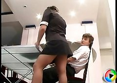 Rachel&Jerry frisky anal pantyhose action