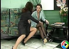 Emmie&Jaclyn cool pantyhose video