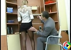 Antoinette&Maurice stunning anal pantyhose video