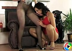 Ira&Laura kinky pantyhose video