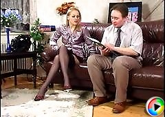 Susanna&Morris horny nylon video