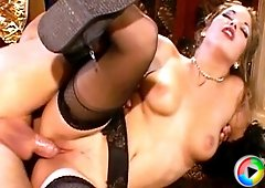 Supreme anal action in nylons