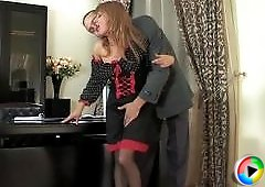 Alice&Mike uniform pantyhose action