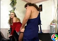 Florence&Lesley live pantyhose show