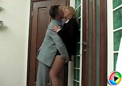Emilia&Desmond secretary pantyhose movie
